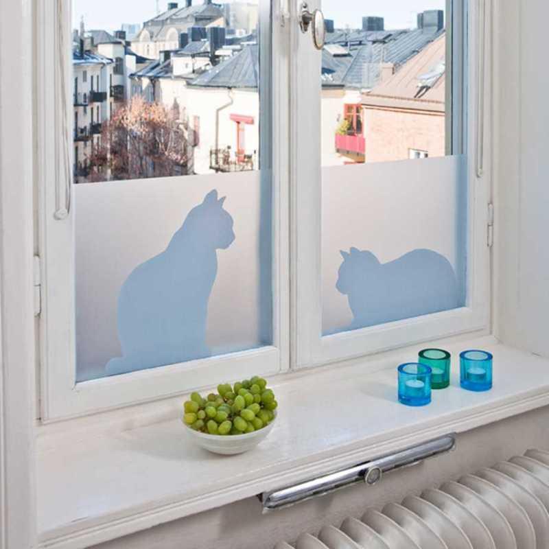Vindusfilm - Cats in window Image