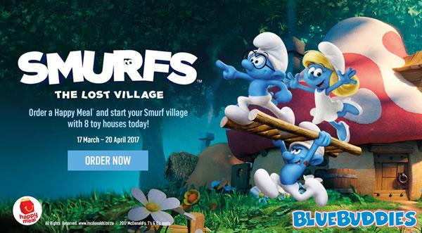 Village Smurfs Lost 2017 Mcdonald