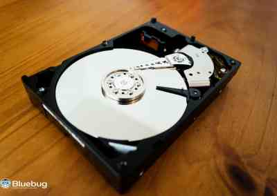 HDD zonder cover