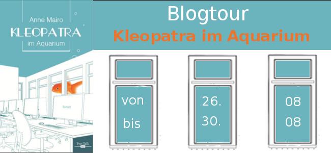 Blogtour Kleopatra im Aquarium