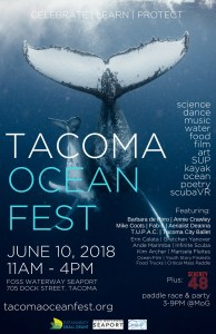 Tacoma Ocean Fest Youth Readings @ Foss Waterway Seaport