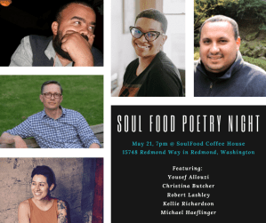 SOUL Food Poetry Night @ SoulFood Coffee House