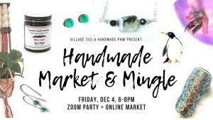 Village 253 Handmade Market + Mingle Virtual Market @ VIRTUAL EVENT