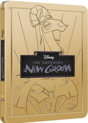 Disney Emperor's new groove steelbook