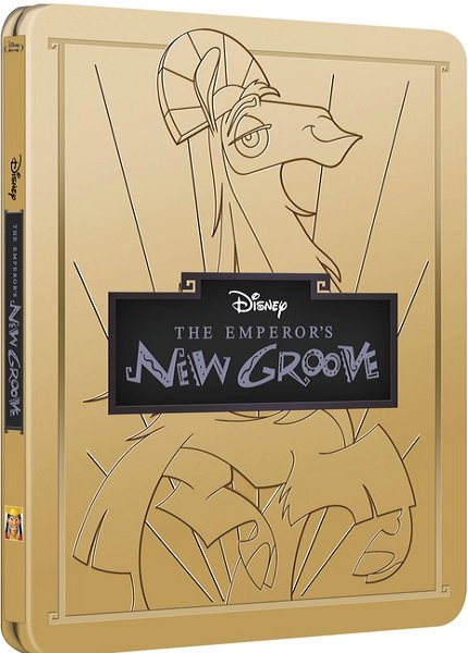 Disney Emperor's new groove steelbook