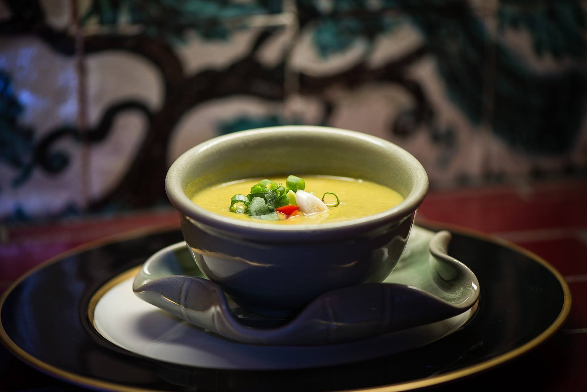 Cream of Poblano Soup