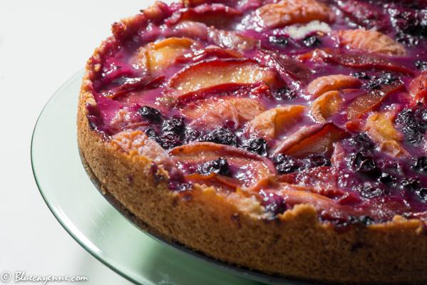 Plum-Peach Cake