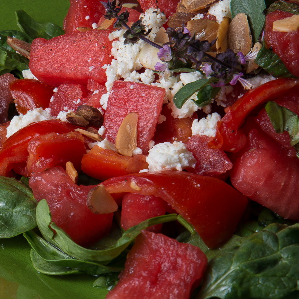 watermelon and tomato salad 5-2