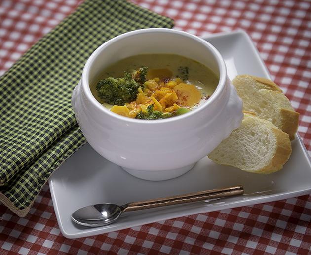 Give Yourself A Hug: Broccoli Cheddar Soup