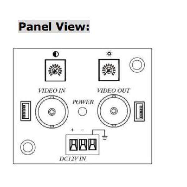 Analog HD ( TVI , CVI , AHD ) 1CH Video Signal Booster