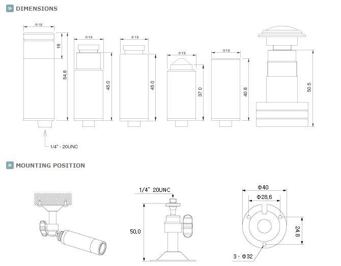 KT&C E190NUP4 Bullet SECURITY CAMERA 700 TVL SONY EFFIO 2