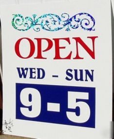 Open-hours-of-operation-your-customized-hours-sign-displaypic