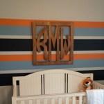 Calvin and Hobbes Themed Nursery, Statement Wall, Nursery Decor, Blue Crab Interiors, www.bluecrabinteriors.com