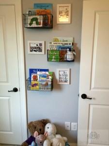 Calvin and Hobbes Themed Nursery, Book Nook, Nursery Book Storage Calvin and Hobbes Themed Nursery, Book Nook