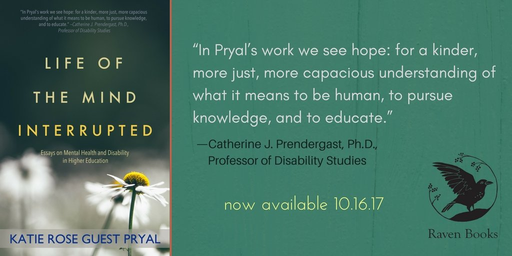 Happy Pub Day, Katie: LIFE OF THE MIND INTERRUPTED is out TODAY