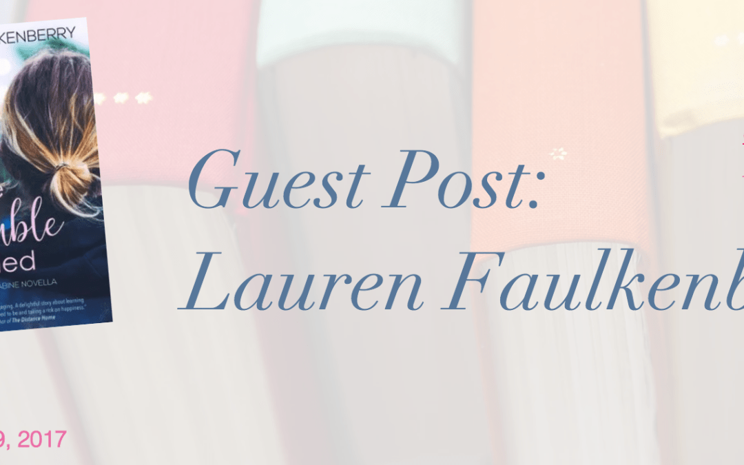 Thanks Daisy Mae for Review of Just the Trouble I Needed & Lauren Faulkenberry's Guest Post