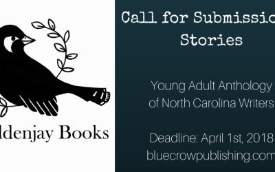 Call for Stories: Young Adult Anthology of North Carolina Writers