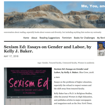 May 2018: Review of Baker's SEXISM ED