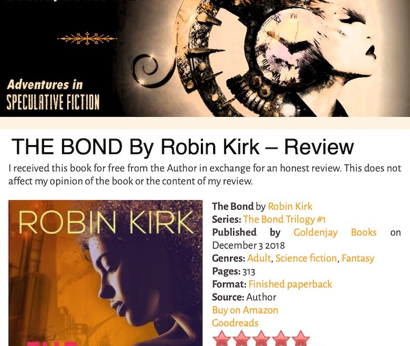 Books, Bones, and Buffy: 5-Star Review of Kirk's THE BOND