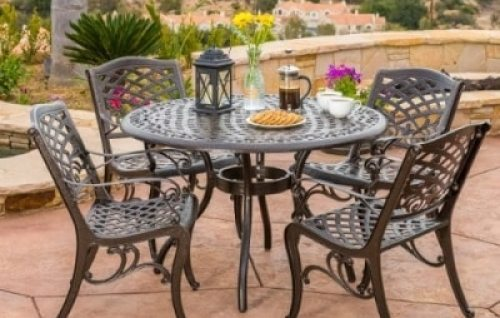 heavy patio set that won't rust