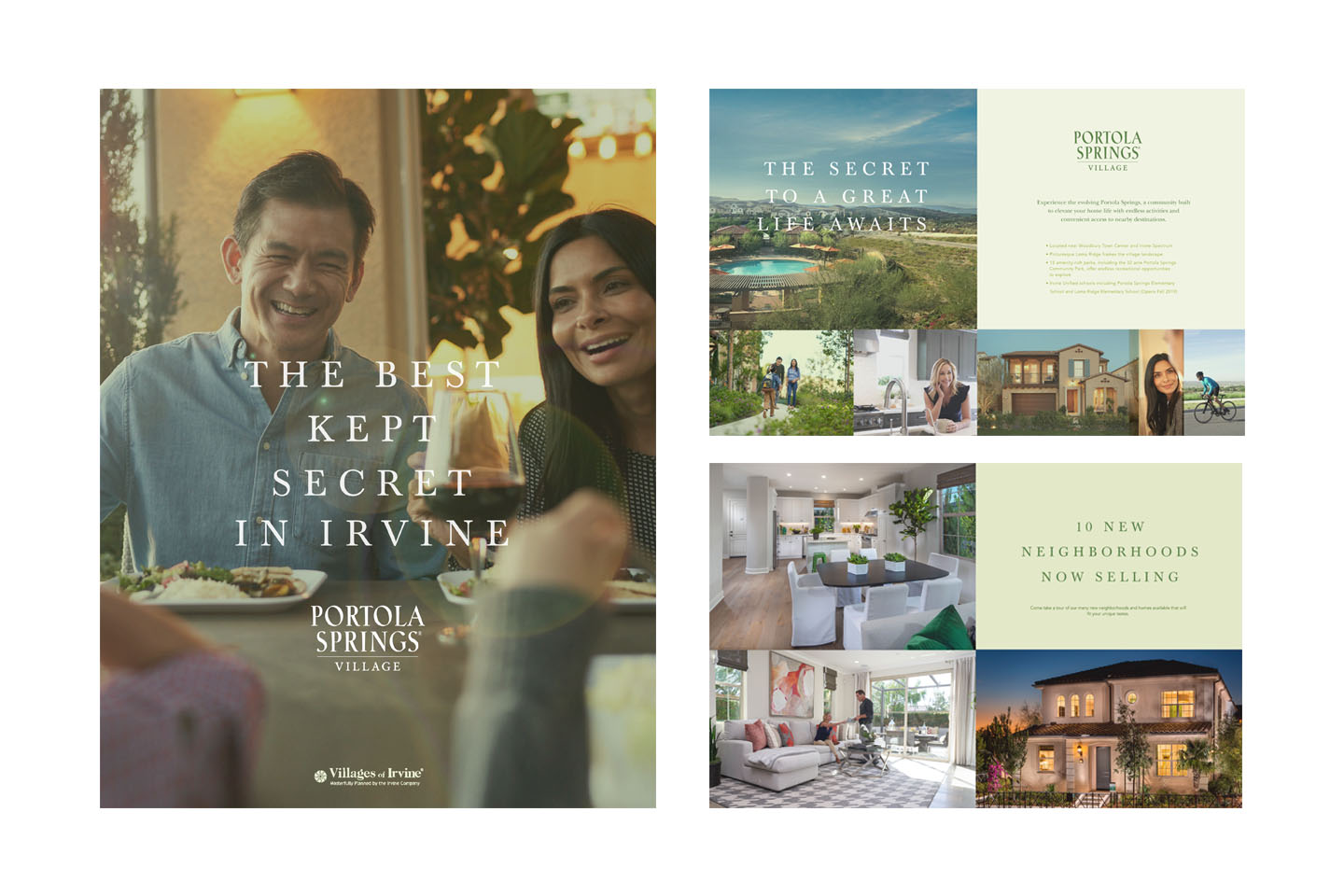 Residential community marketing launch campaign
