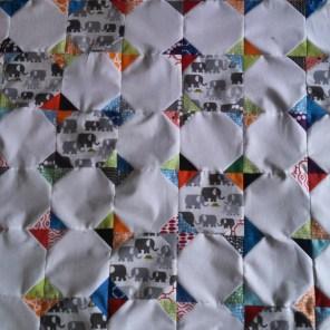 Using Ed Emberly fabric