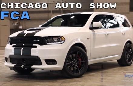 2018 Chicago Auto Show – Mopar 2019 Ram 1500, Fiat 500 Turbo, & Dodge Durango Stripes Eugene Oregon 2018