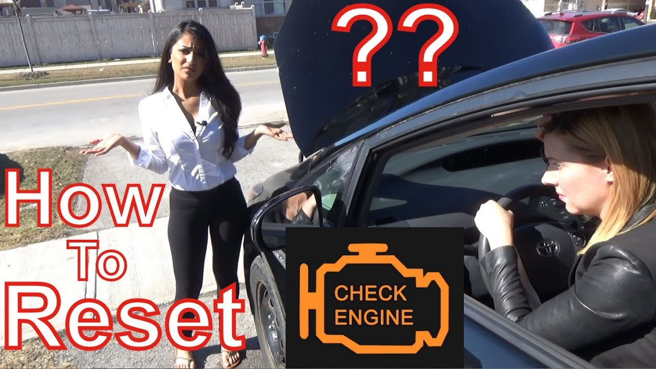 How to Reset Check Engine Light From Millburn 7041 NJ