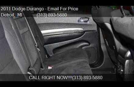 2011 Dodge Durango Express AWD 4dr SUV for sale in Detroit, Corona California 2018