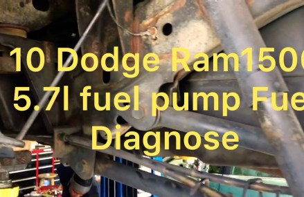 10 Dodge Ram1500 5.7l fuel pump or TIPM From Maryville 37801 TN
