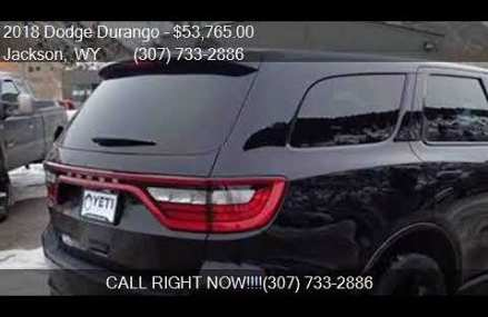 2018 Dodge Durango R/T AWD 4dr SUV for sale in Jackson, WY 8 Rancho Cucamonga California 2018
