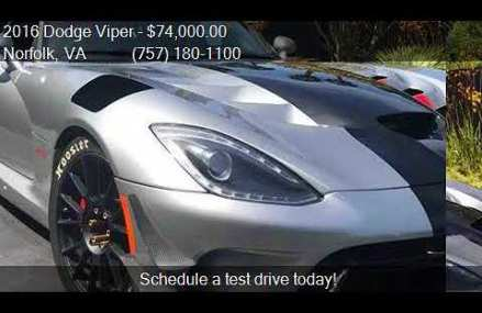 Dodge Viper Autotrader at Gateway Motorsports Park, Madison, Illinois 2018