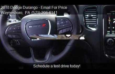 2018 Dodge Durango R/T AWD 4dr SUV for sale in Waynesboro, P Salinas California 2018