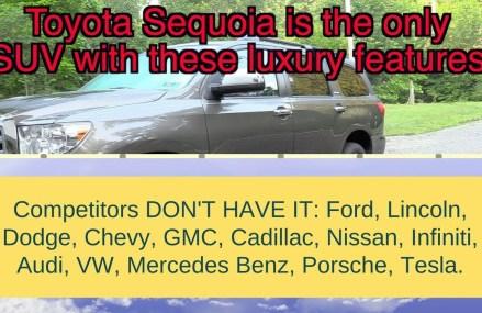 2019 Toyota Sequoia vs Navigator, expedition, armada, qx80, escalade, durango, tahoe, suburban Dallas Texas 2018