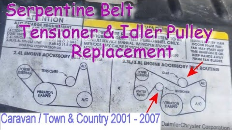 32 2007 Dodge Caliber Serpentine Belt Diagram