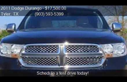 2011 Dodge Durango Citadel AWD 4dr SUV for sale in Tyler, TX Amarillo Texas 2018