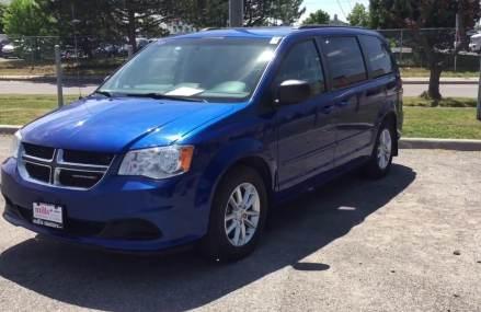 Pre-Owned Blue 2013 Dodge Grand Caravan SE Oshawa ON Stock# B12172 Near Maysville 28555 NC