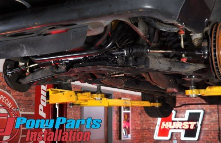 Upgrading worn out steering on the 1985-1993 Mustang V8: Power Steering Rack & Pinion Kit Install in Marianna 15345 PA