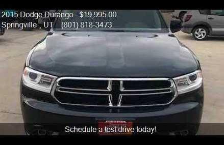 2015 Dodge Durango SXT AWD 4dr SUV for sale in Springville , Ontario California 2018
