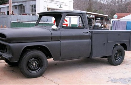 1965 Chevrolet C20 Utility Bed Build Project at 17371 York New Salem PA