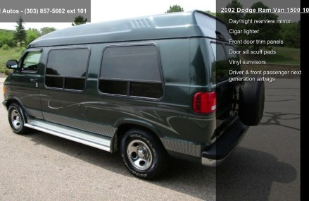 2002 Dodge Ram Van 1500 109″ WB Around Streets in 35989 Valley Head AL