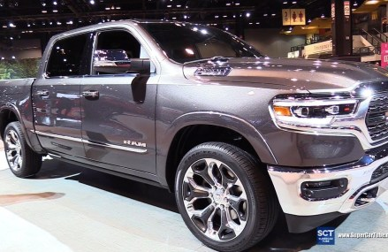 2019 Dodge RAM 1500 Limited – Exterior and Interior Walkaround – 2018 Chicago Auto Show Area Near 24483 Vesuvius VA