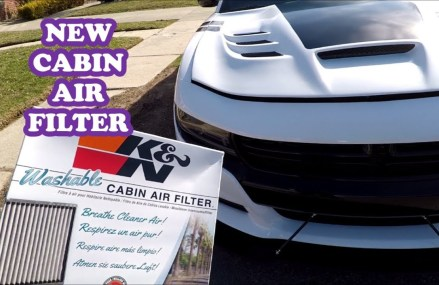 Cabin Air Filter Change for Dodge Charger 2016 SXT Near 21223 Baltimore MD