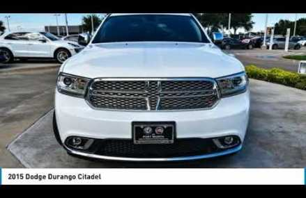 2015 Dodge Durango Ft. Worth Tx, Arlington TX, Grapevine TX AC17719A Gilbert town Arizona 2018