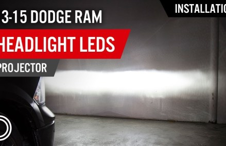 How to Install 2013-2015 Dodge Ram Headlight LEDs (Projector) | Diode Dynamics From 12491 West Hurley NY