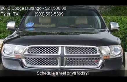2013 Dodge Durango Citadel 4dr SUV for sale in Tyler, TX 757 San Diego California 2018