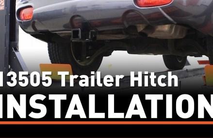 Trailer Hitch Install: CURT 13505 on a Hyundai Santa Fe Near Montgomery 36117 AL