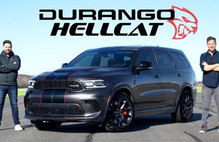 2021 Dodge Durango SRT Hellcat Review // 710-Horsepower SUV King Columbus Georgia 2018