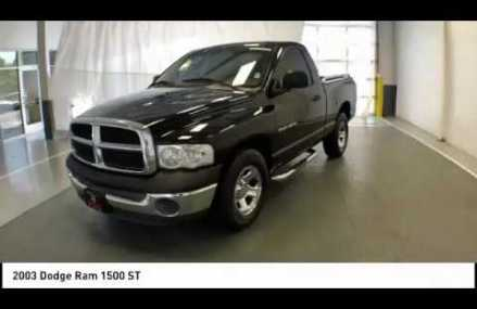 2003 Dodge Ram 1500 Gallatin TN P5787A Place 56379 Sauk Rapids MN