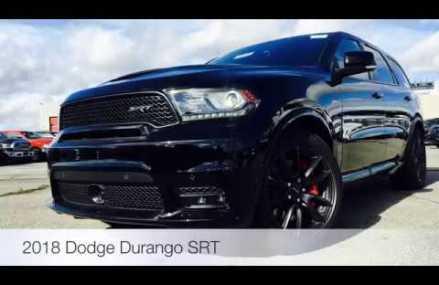 Used Dodge Durango SRT for sale | Toronto, Mississauga, Oakville | Ontario Chrysler Chicago Illinois 2018